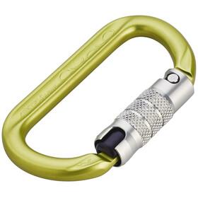 AustriAlpin Ovalo 2-Way Autolock Carabiner yellow anodized